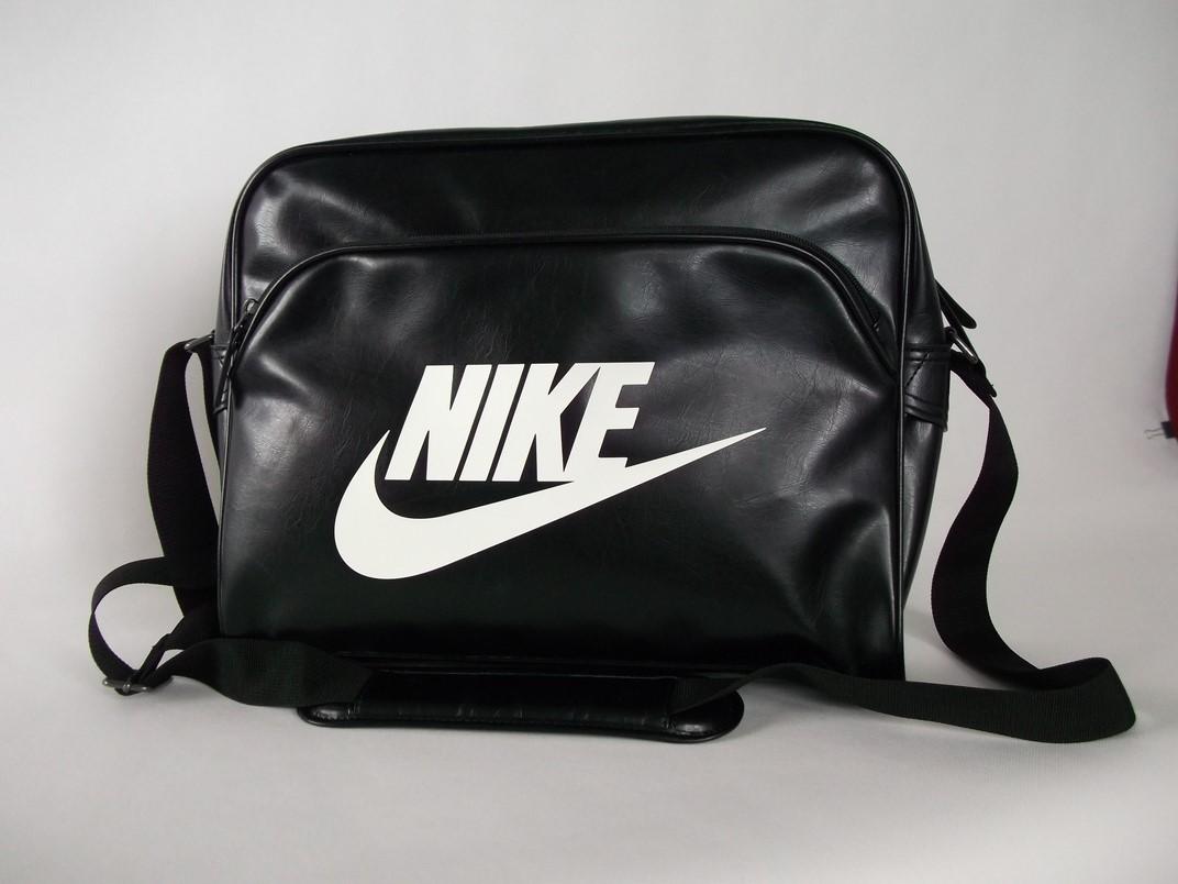 tanio na sprzedaż sklep najtańszy torba na ramię NIKE czarna sportowa duża - 7202315458 ...