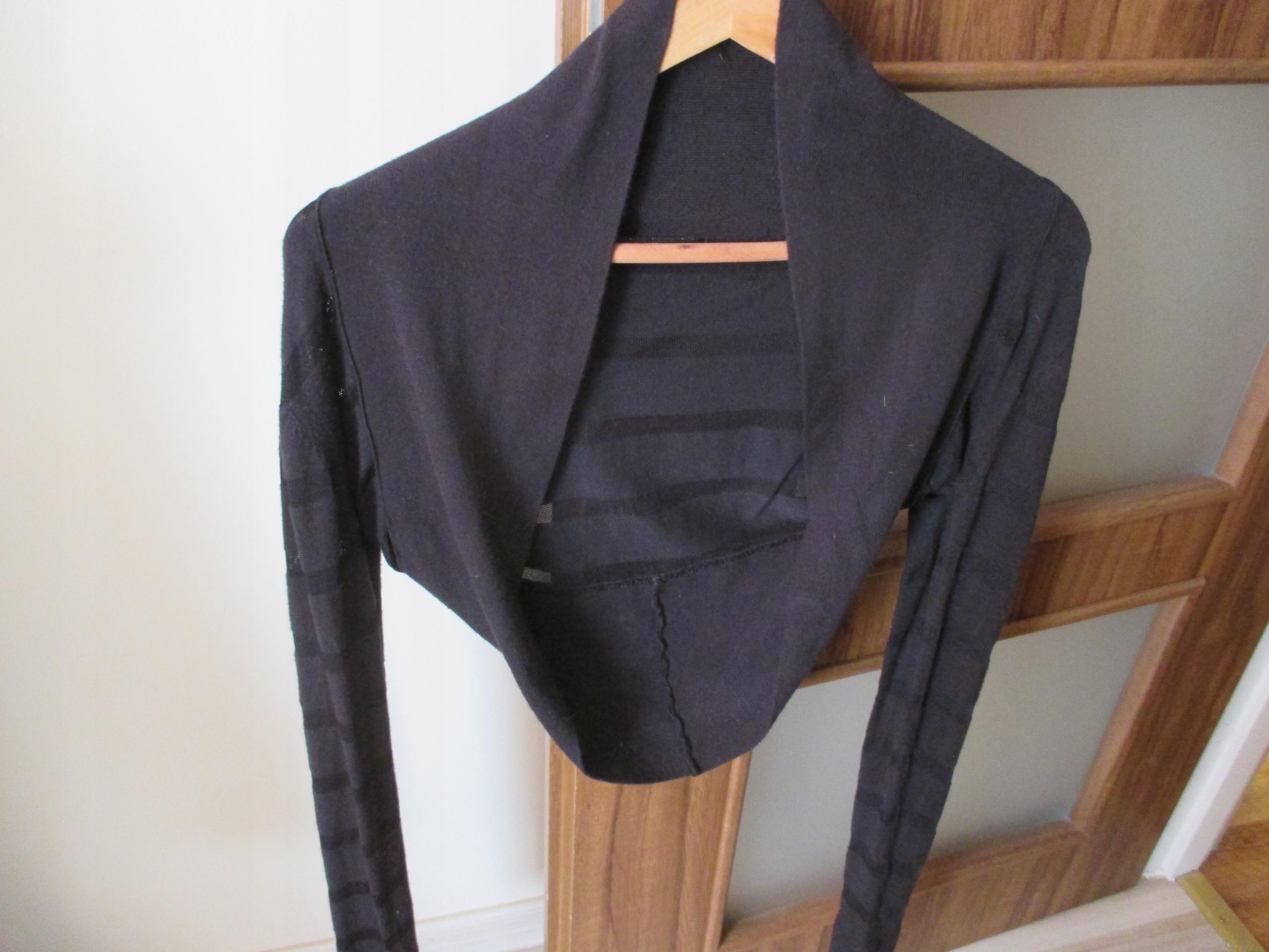 f7fdc2d162 Eleganckie czarne wieczorowe bolerko Jane Norman.M - 7623531725 ...