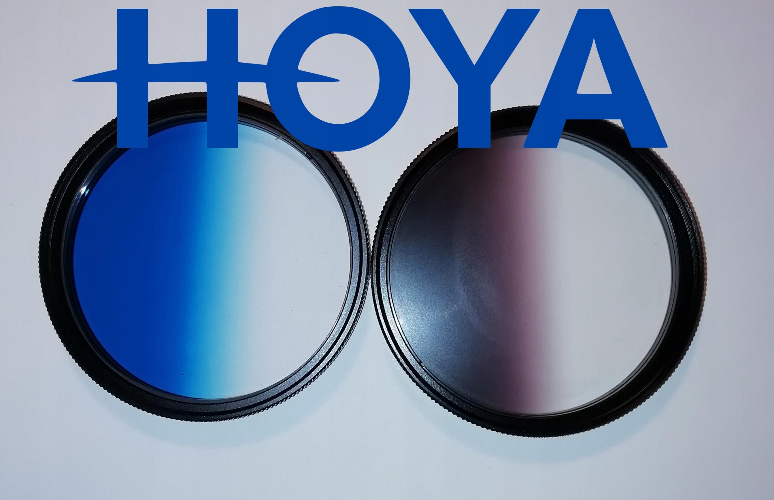 Hoya 2 filtry POŁÓWKOWE 62 mm + GRATIS !