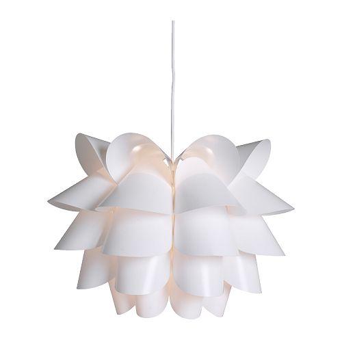 Lampa Wisząca Biała Nowoczesna Nad Stół Ikea Loft 7275157645