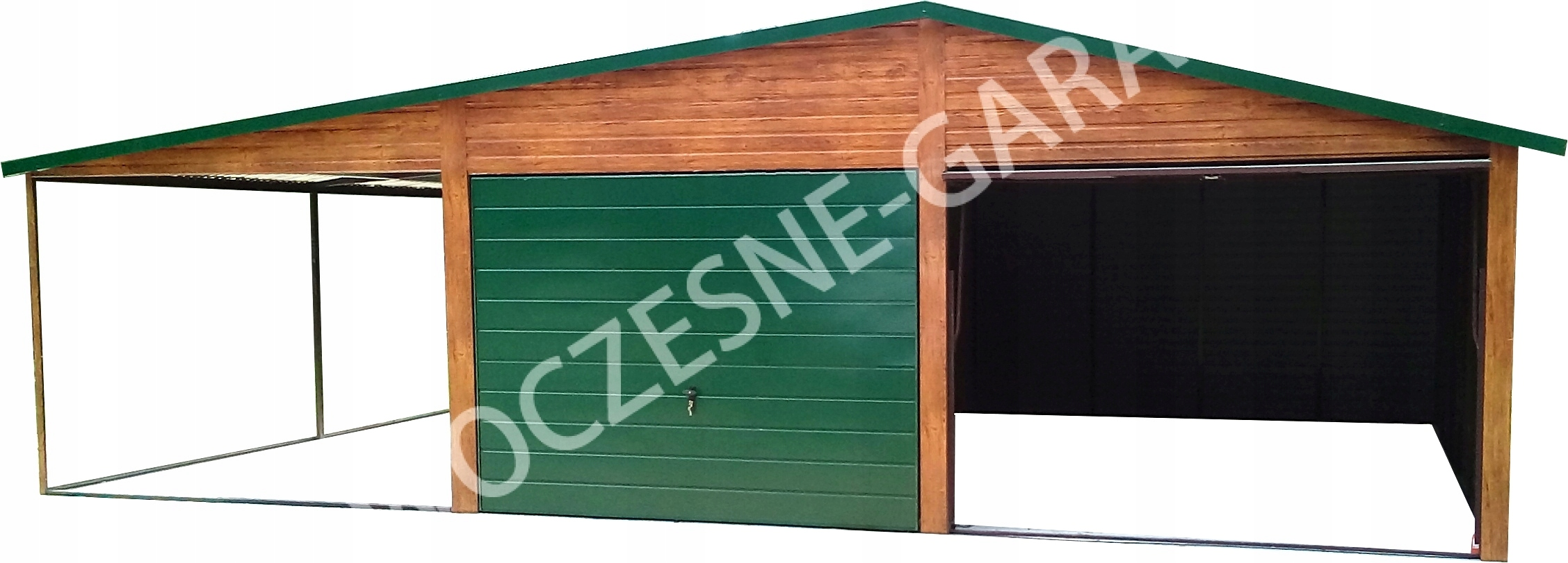 Garaże Blaszane Garaż Blaszany Jakość Premium 7485112688