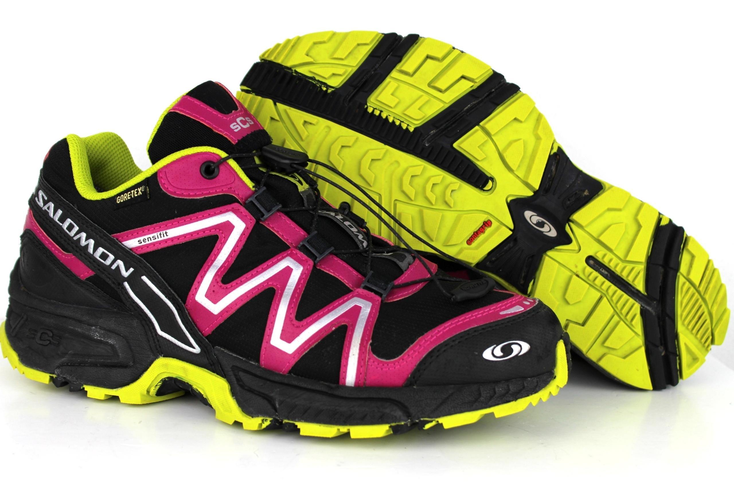 120682184950 SALOMON Neon Trail GORE-TEX buty r 39 -60% - 7528475609 - oficjalne ...