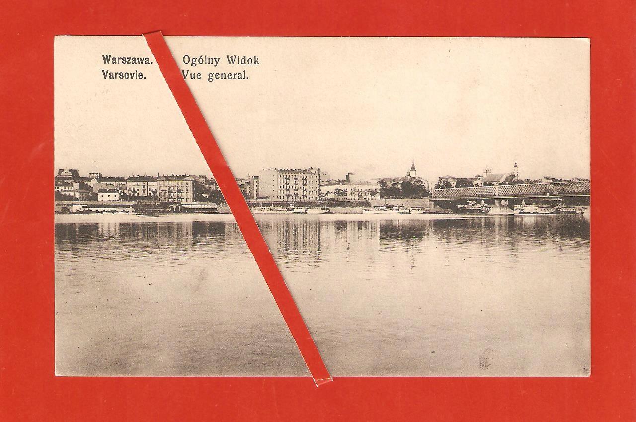 Warszawa Panorama z Pragi Wojutyński