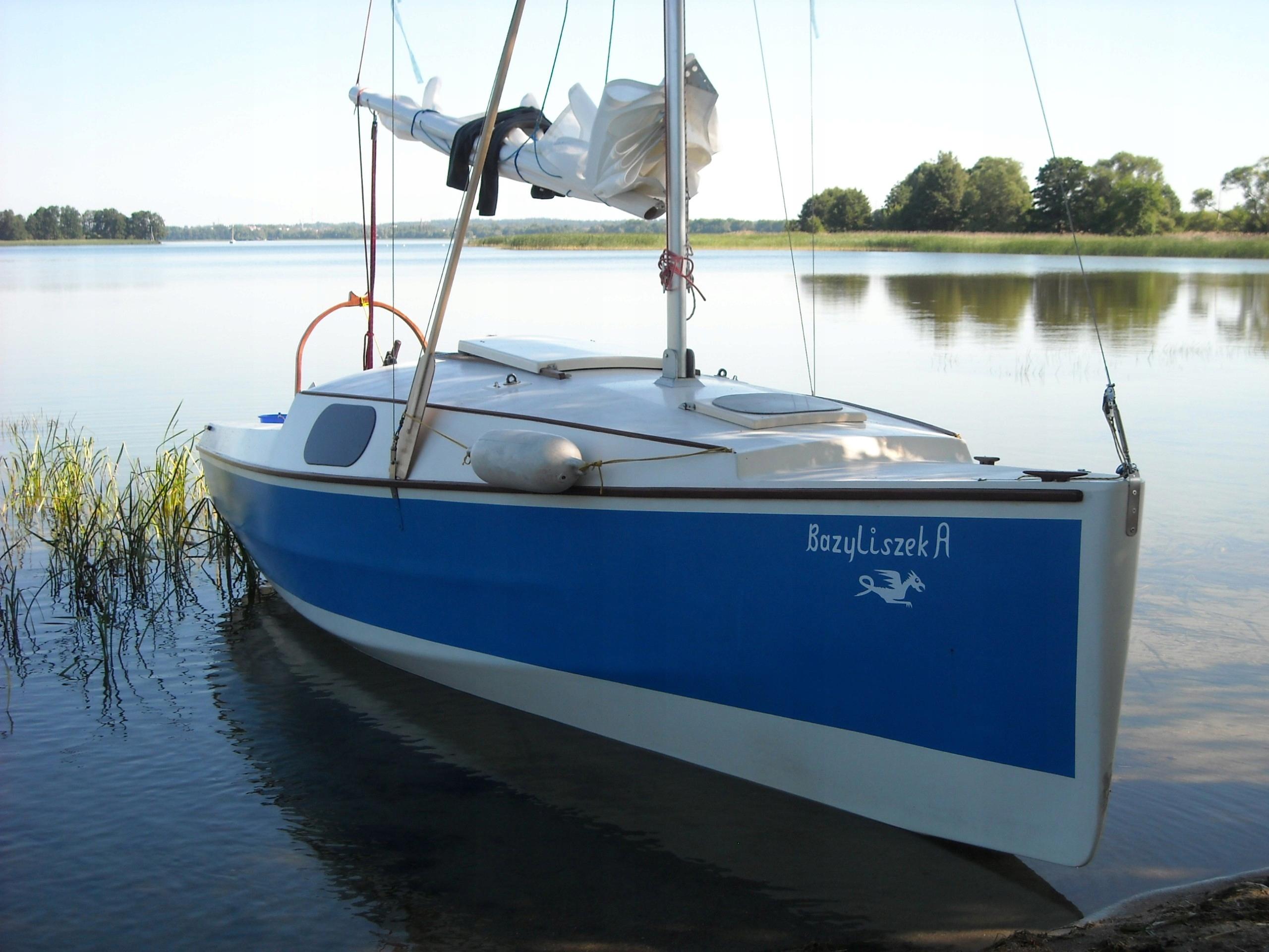 Jacht żaglowy turystyczny BAZYLISZEK 6,3