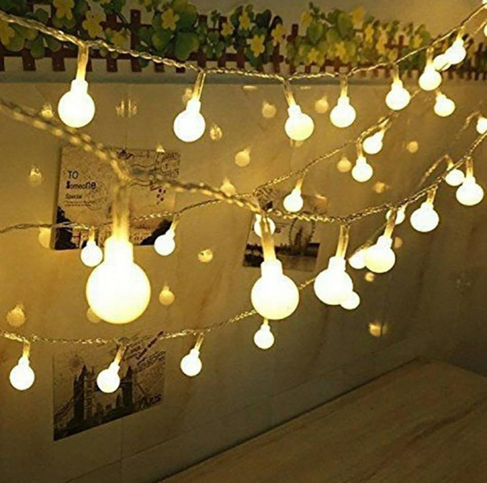 Lampki Led Ogrodowe 50 Szt148 Tarasowe Girlanda