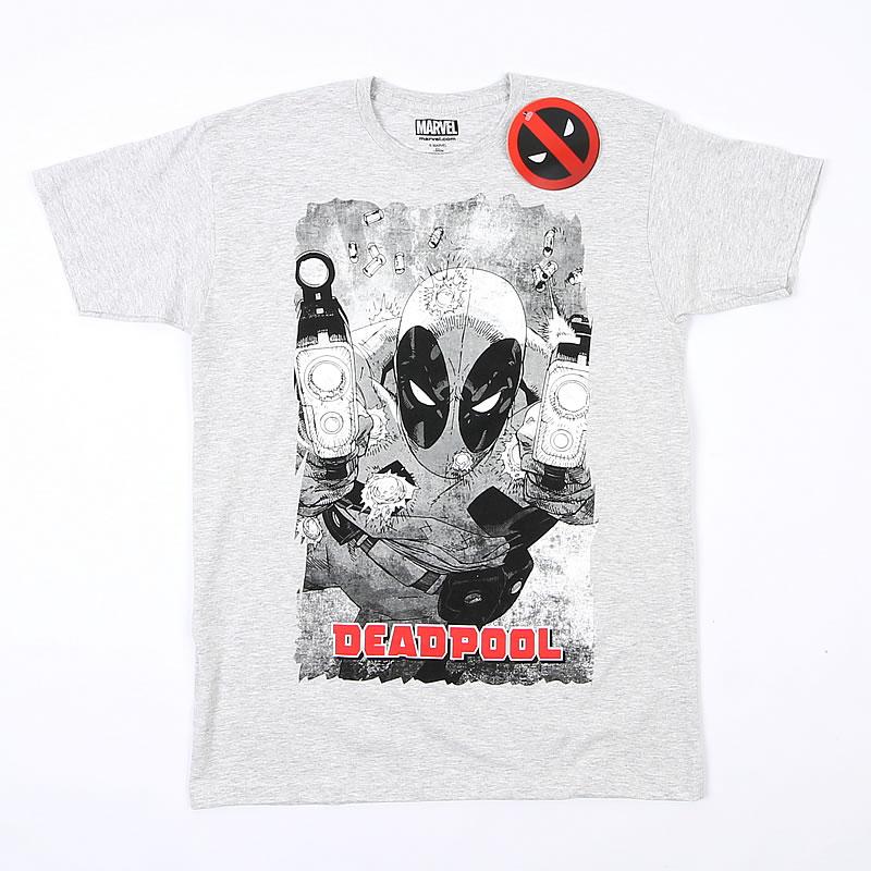 8577b97c5 T-shirt męski Marvel Deadpool L BCM! - 7365489841 - oficjalne ...