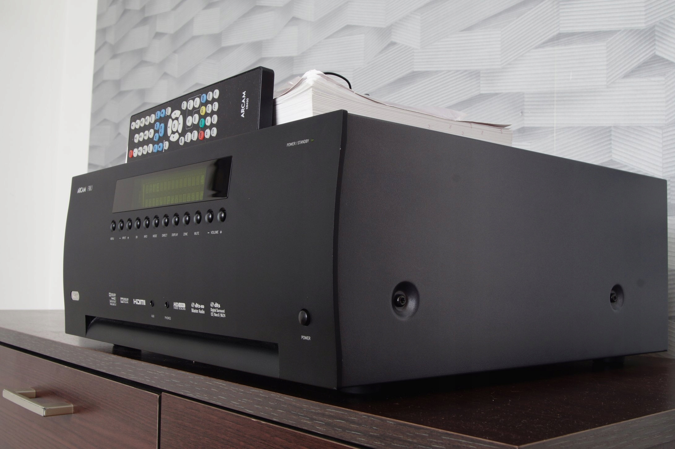 Zadbany Amplituner 7 1 Arcam AVR450 Rezerwacja - 7636286720