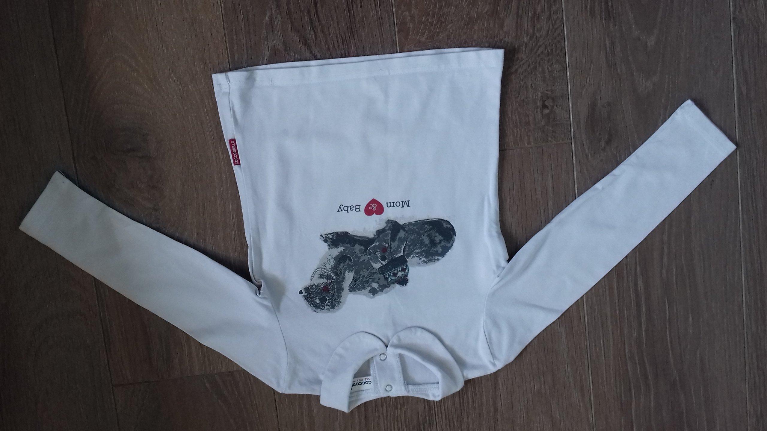 koszulka COCCODRILLO  dla dziewczynki rozmiar 116