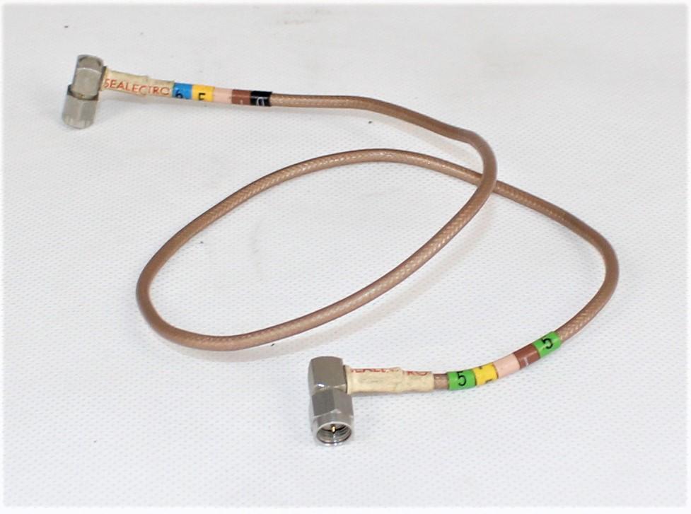 Przewód koncentryczny PTFE 2 x SMA 53 cm