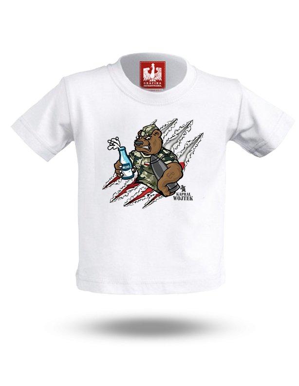 34f8dc93acadc0 Koszulka patriotyczna Miś Wojtek - Rozmiar: 9-11 - 7024875279 ...
