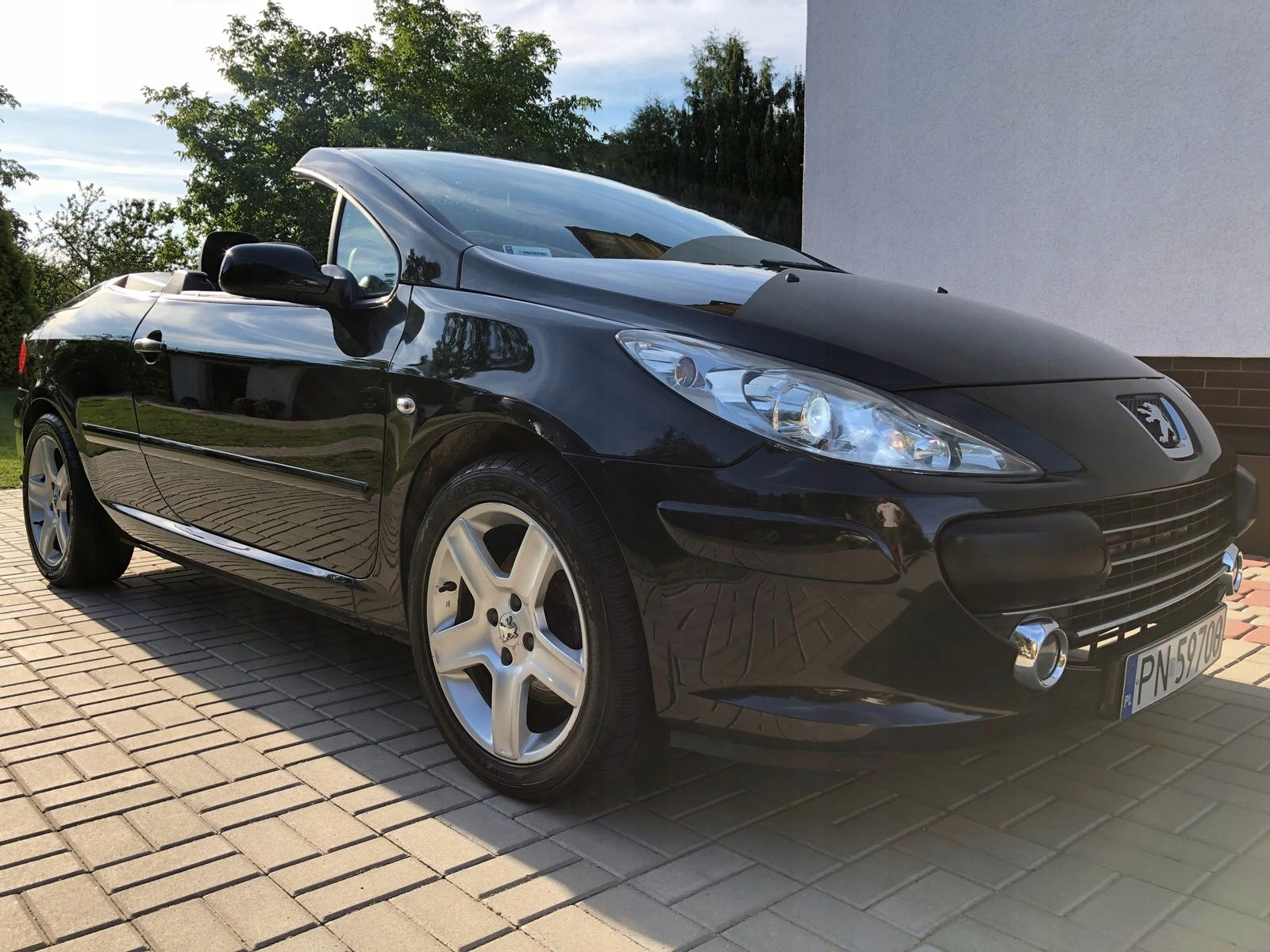Peugeot 307cc 2.0 HDI 136KM 185tys ZADBANY !