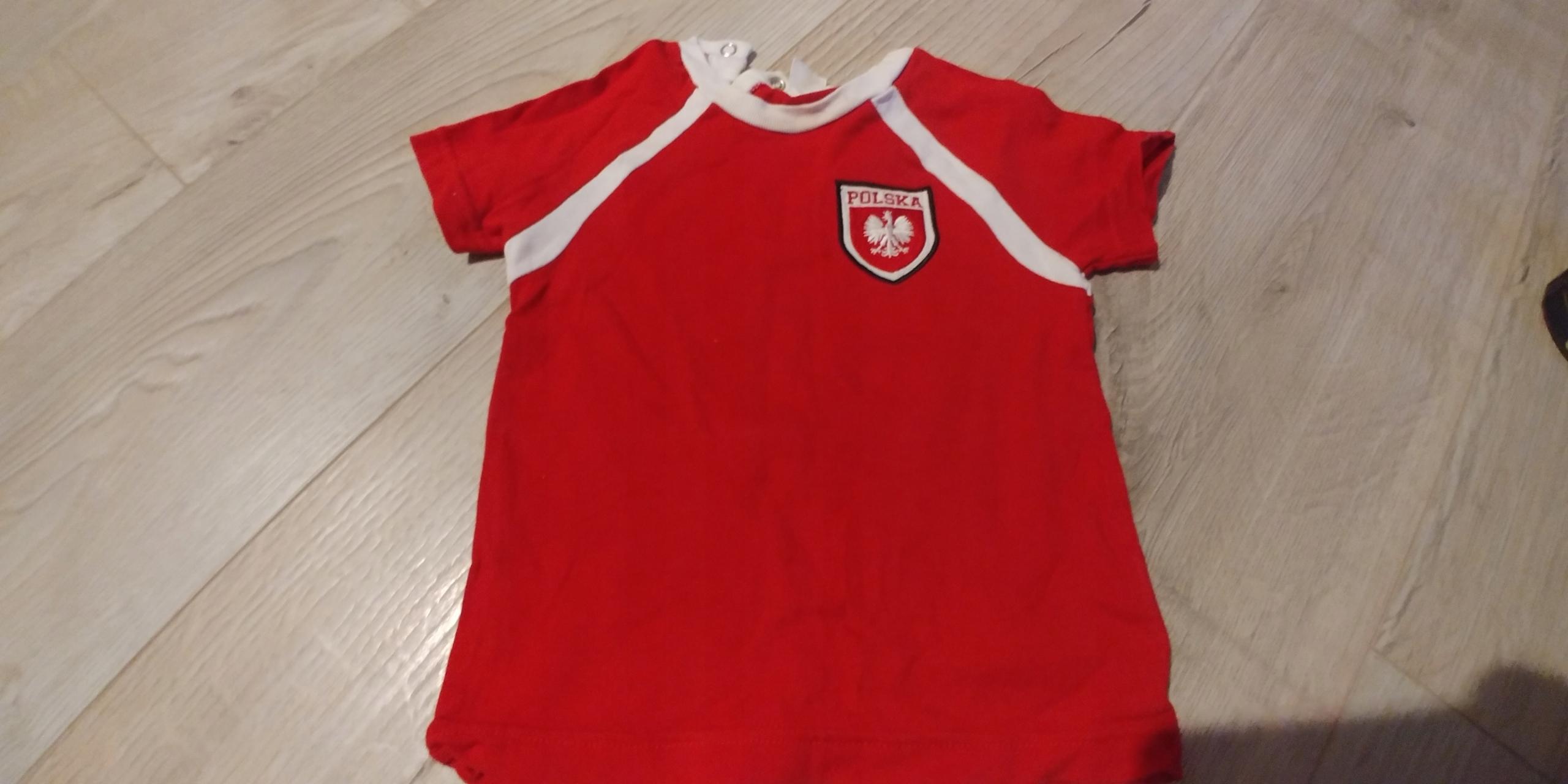T-shirt koszulka Polska dziecko H&M 86