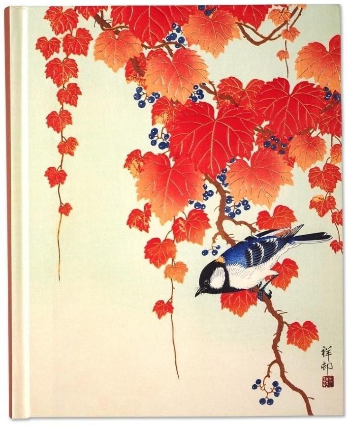 Notatnik Duży Ptak I Czerwony Bluszcz 7237801544