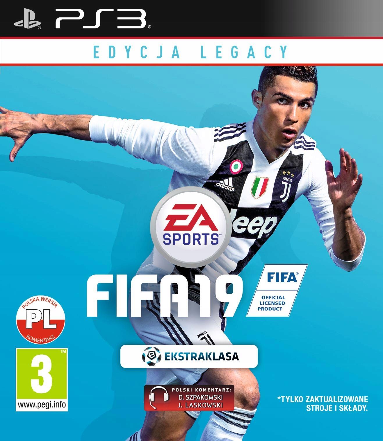 PS3 320gb slim +23GRY +CFW 4.82 przerobiona FIFA19