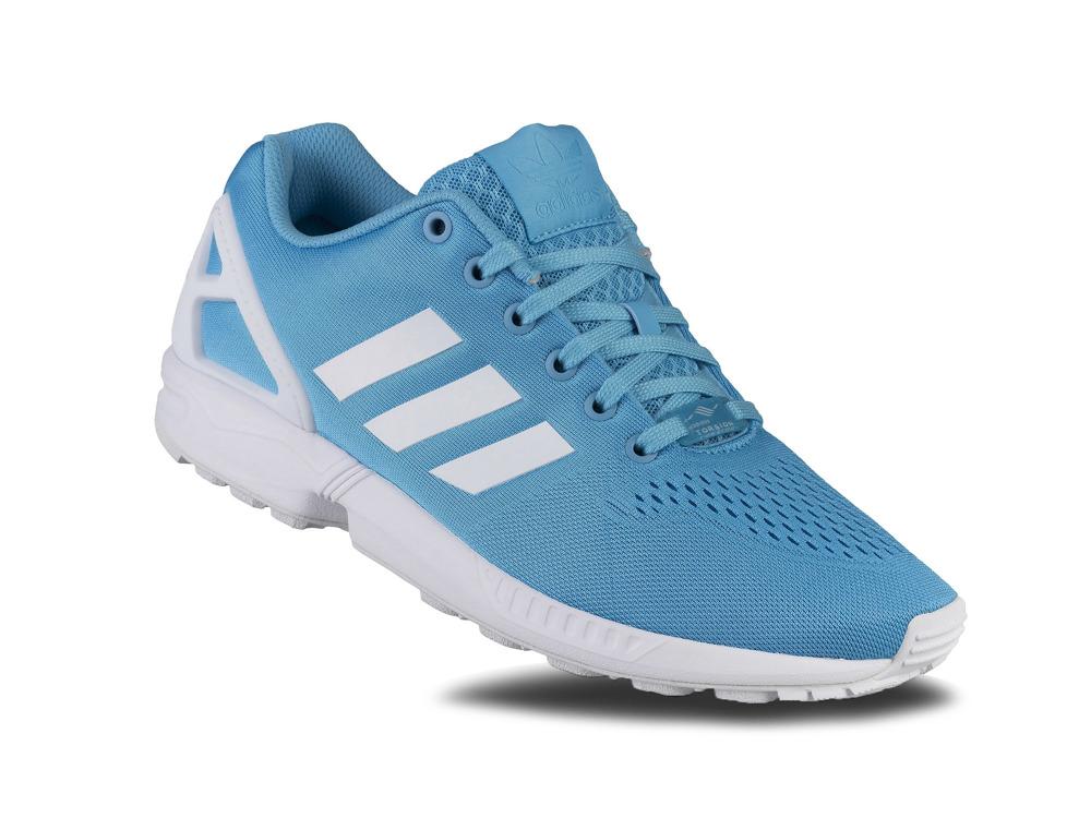 buty Adidas ZX Flux EM niebieskie r. 43 13 S80324