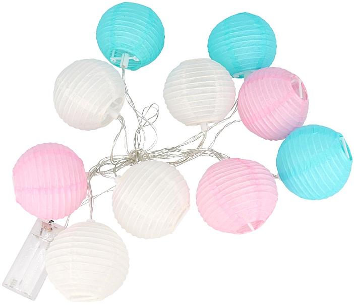 Mini Lampki Lampiony Led Dekoracyjne Kule Girlanda