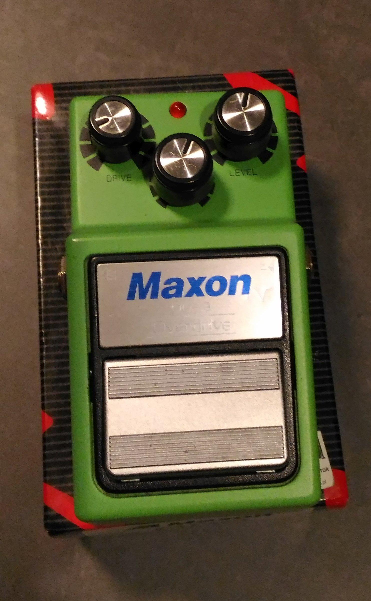 Overdrive MAXON OD9 - 7124127727 - oficjalne archiwum allegro