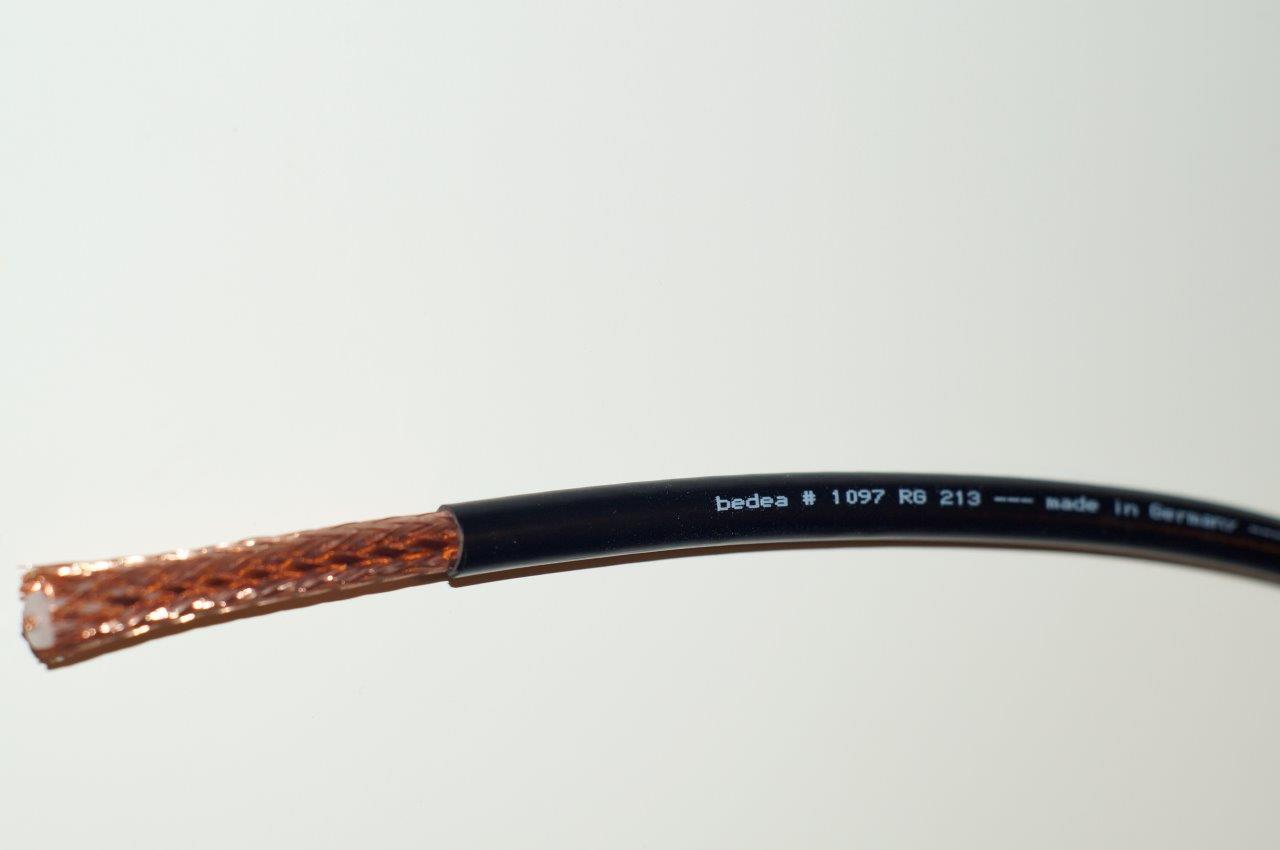 Kabel bedea RG 213 odcinek 5,7mt Made in Germany