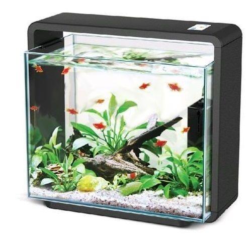 Akwarium 15l HAILEA E15x czarne + LED + filtr