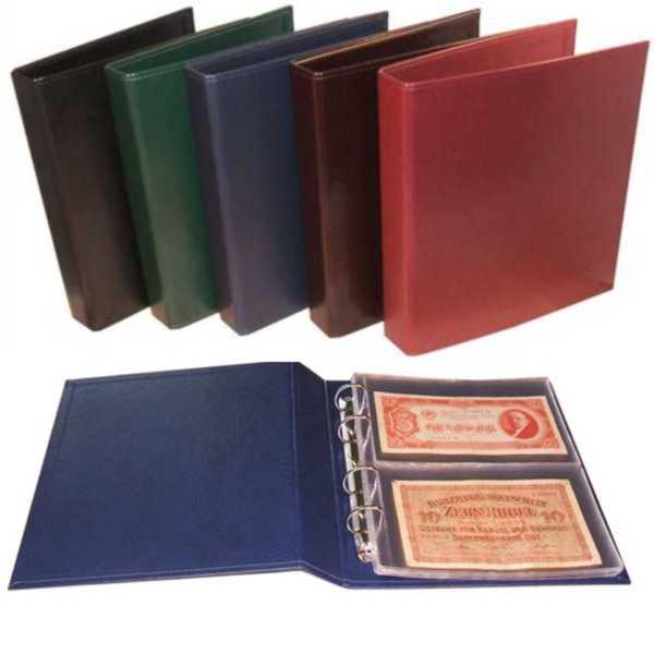 Album na banknoty 23 x 26 cm 901-T2 bordo