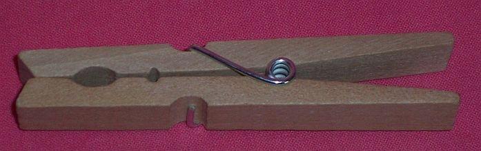 Duże spinacze klamerki drewniane 9,5 cm