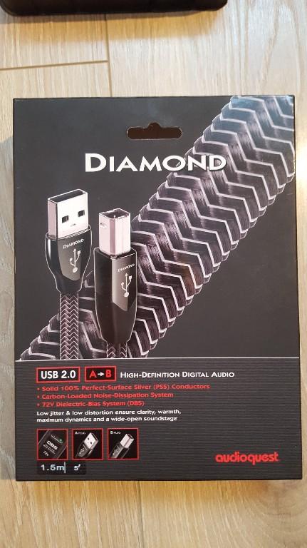 audioquest DIAMOND USB 2.0 A-B  DBS 72v
