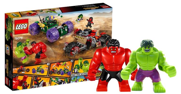 Lego Super Heroes 76078 Hulk Vs Czerwony Hulk 7055500372