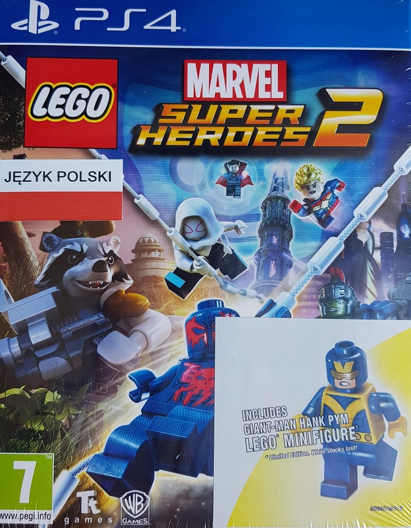 Lego Marvel Super Heroes 2 Ps4 Pl Figurka Lego