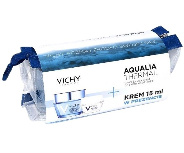 VICHY AQUALIA THERMAL krem lekki - 50 ml + 15 ml