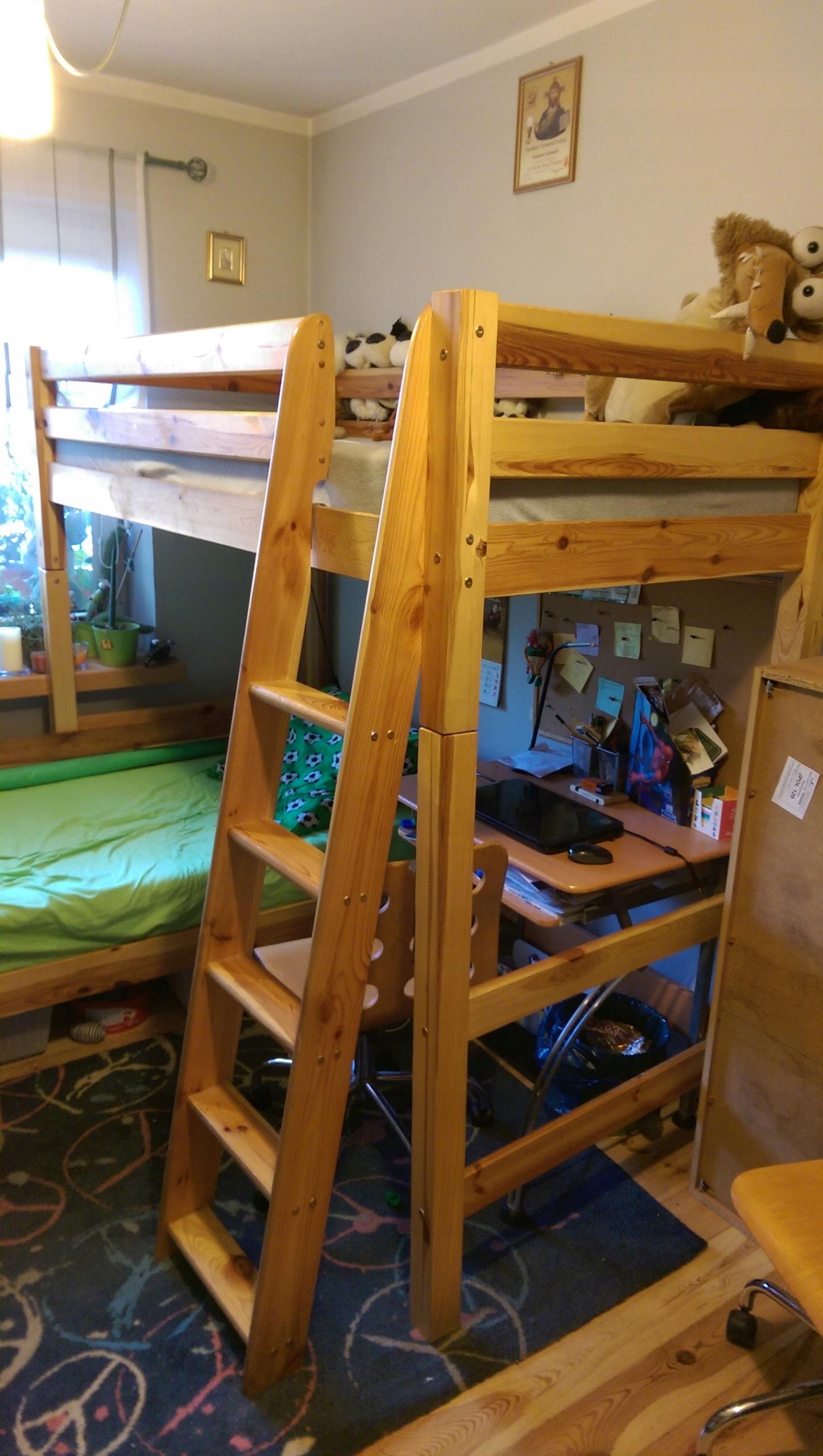 łóżko I Stelaż Do łóżka Piętrowego