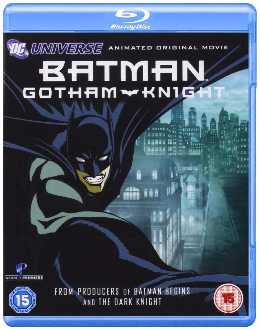 BATMAN GOTHAM KNIGHT, BLU-RAY