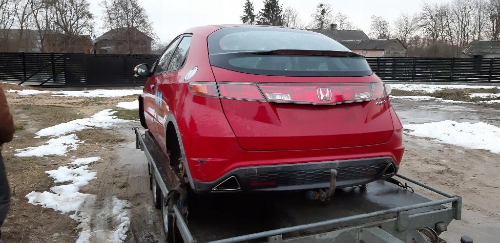 Honda Civic Viii Ufo Ramki Końcówki Wydechu 7791305826 Oficjalne