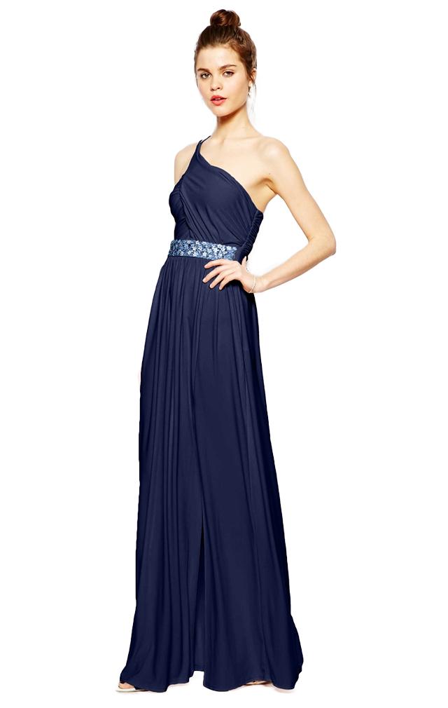 34cdb60c52fa9 Sukienka ASOS z kamieniami maxi / Roz 40 / L0347 - 7162086968 ...