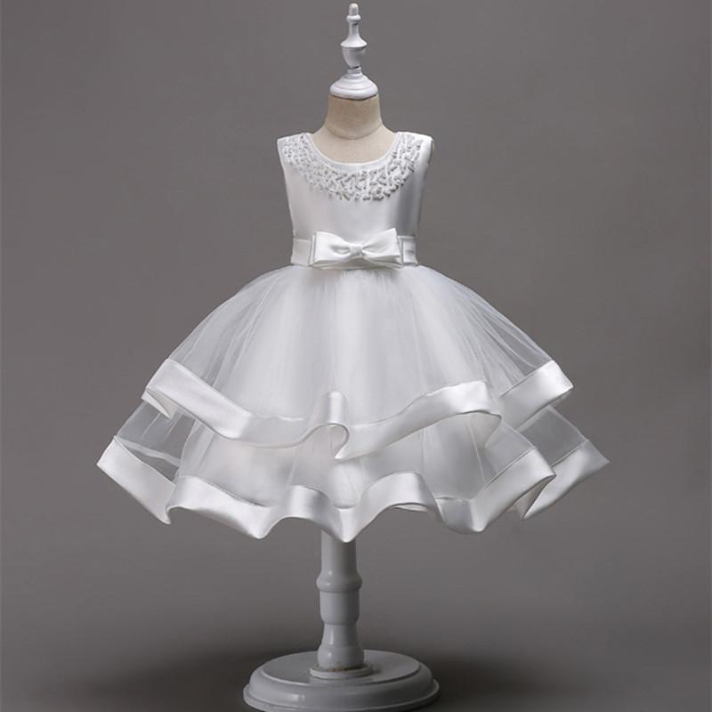 0ecb7f1bc8 Śliczna wizytowa sukienka tiulowa perełki 116 122 - 7223310485 ...