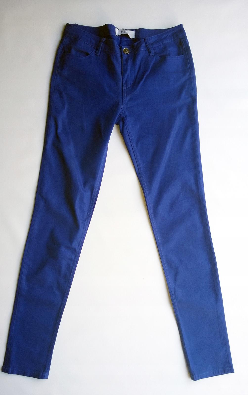 spodnie nabłyszczane zara