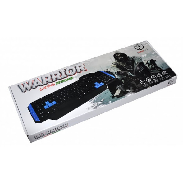 GAMINGOWA KLAWIATURA PC USB REBELTEC WARRIOR NOWA