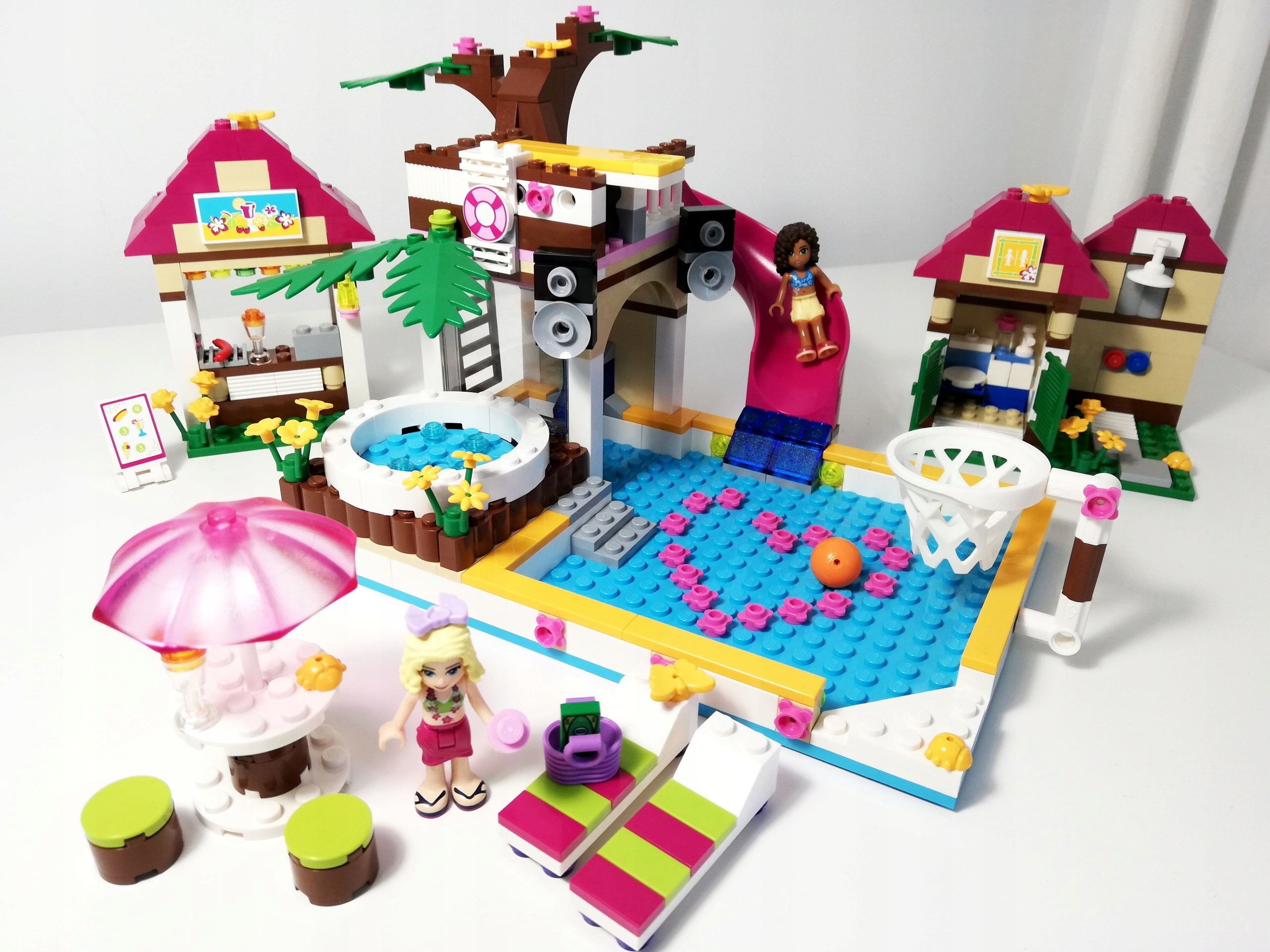 100 Lego Friends 41008 Basen W Heartlake W Wa 7538380439