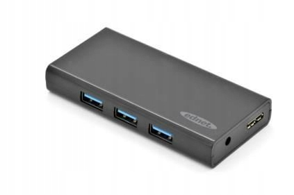 HUB/Koncentrator Ednet 7-portowy USB 3.0 SuperSpee