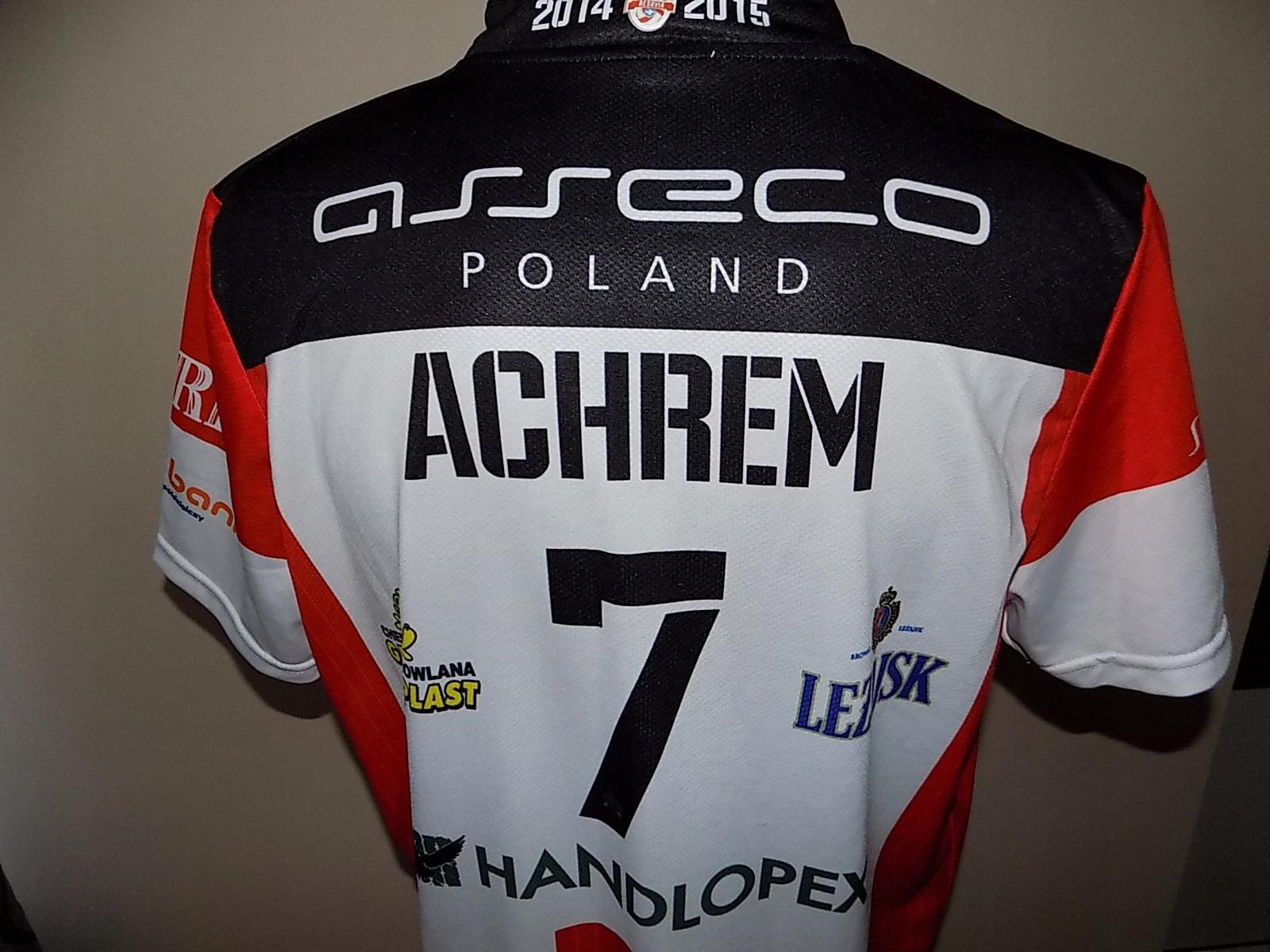 VIgo Asseco Resovia Olieg Achrem koszulka męska XL