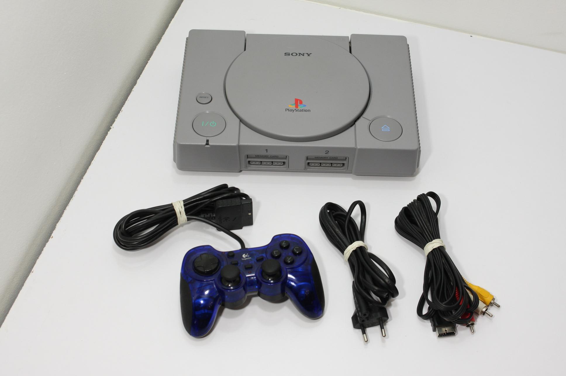 Sony Playstation PSX SCPH-9002 +  Pad Logitech