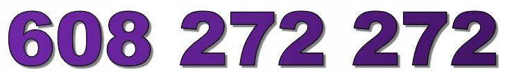 608 272 272 ZŁOTY NUMER T-MOBILE BIZNESOWY NOWY
