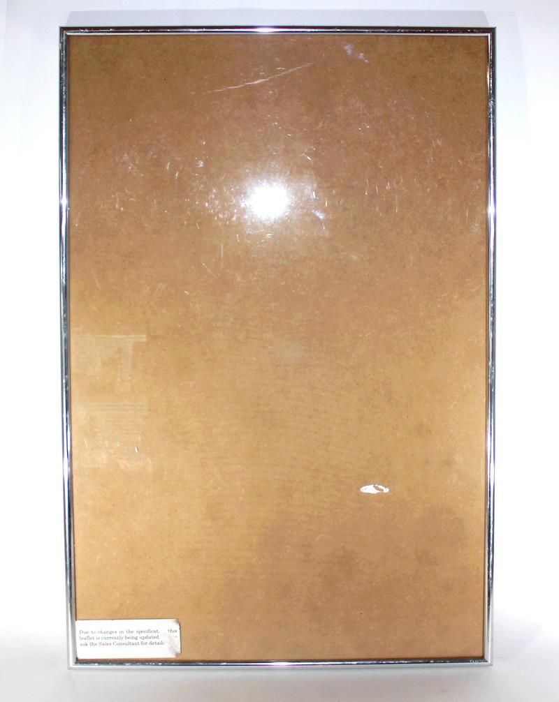 Duża Ramka Silver Jak Antyrama Na Plakat U804