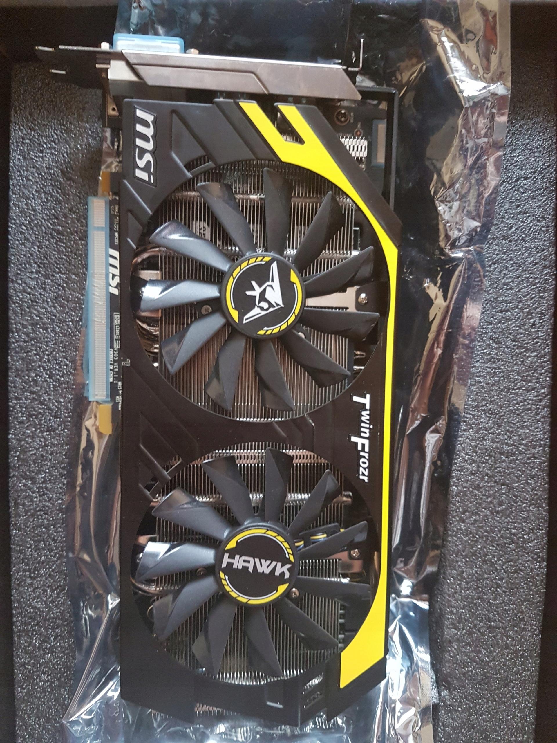 Karta graficzna AMD RADEON R9 270X MSI HAWK - 7543438163