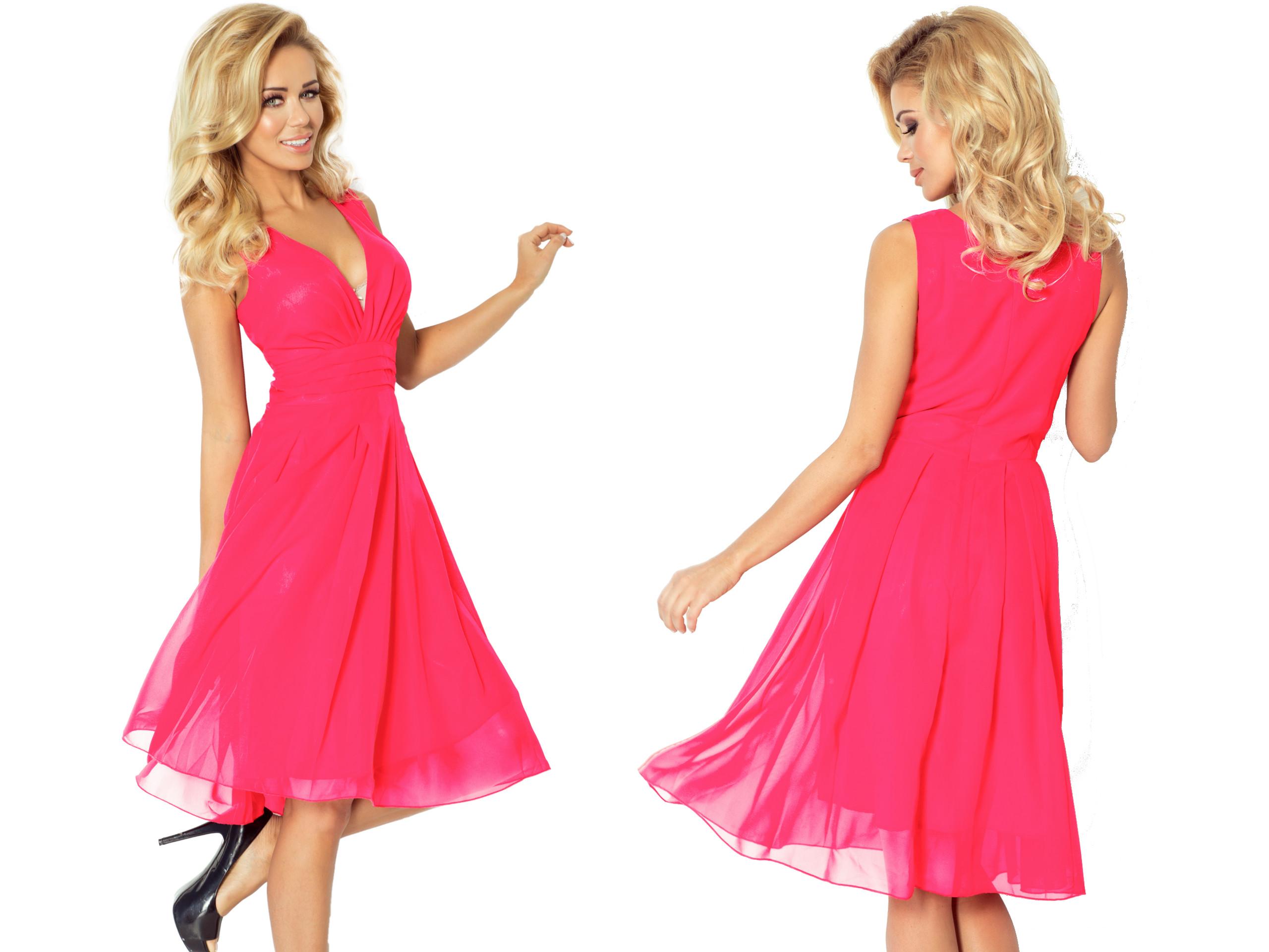 05285ff655 Modna Młodzieżowa Sukienka KOKTAJLOWA 35-10 XL 42 ...