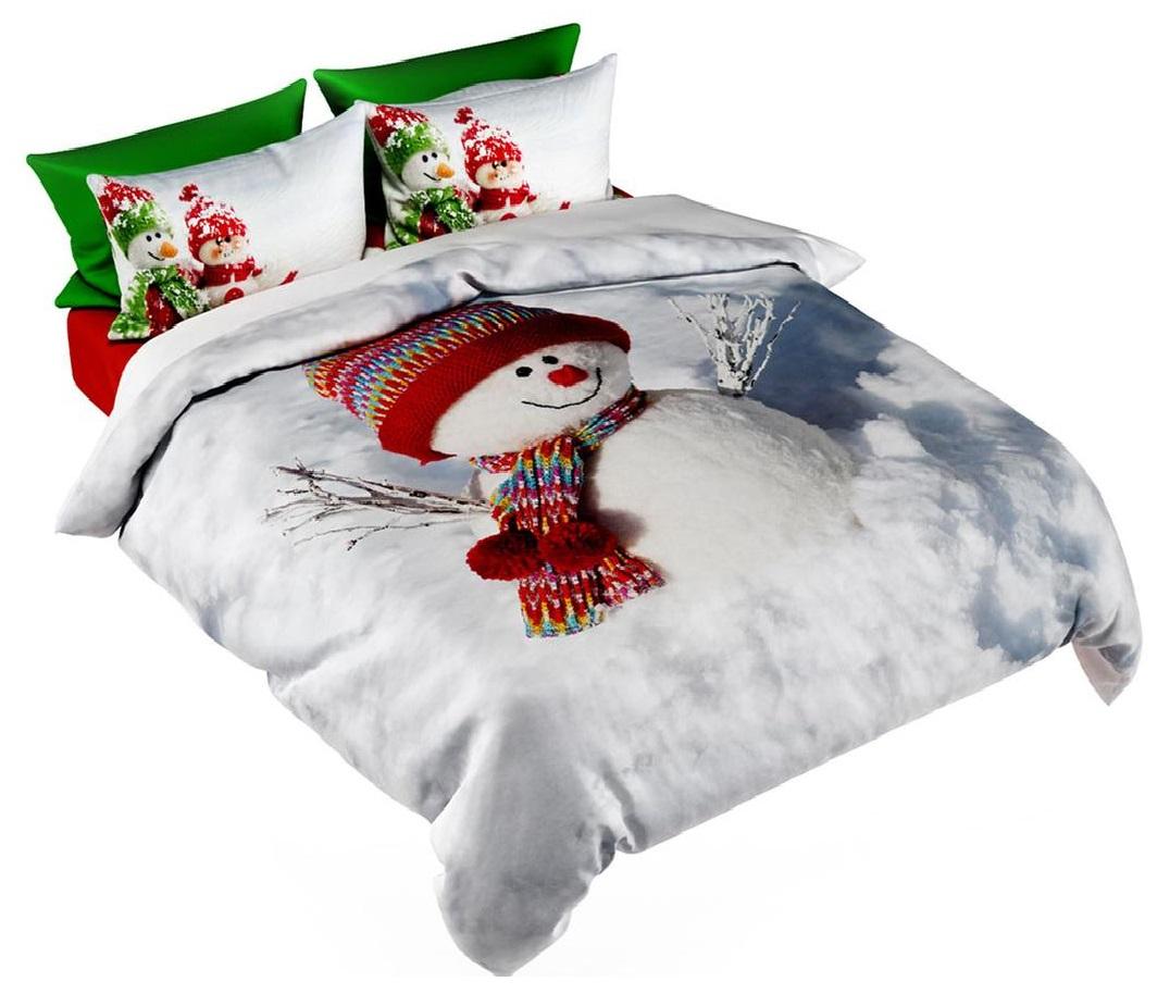 Lina Pościel świąteczna Zimowa Poszewki 200x250cm 7088748412