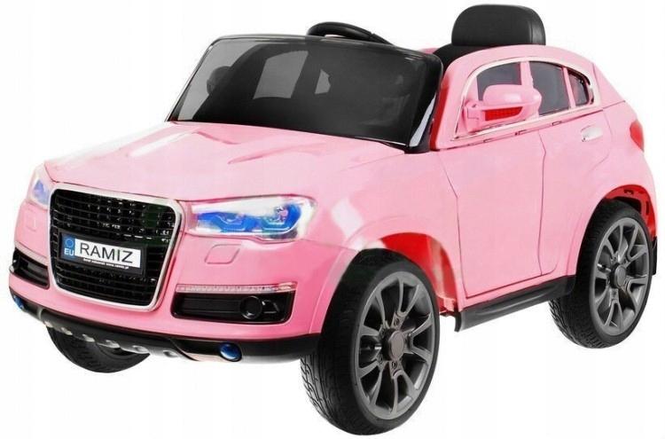 Młodzieńczy Autko dla dziewczynki samochód na akumulator PILOT - 7428887531 JA98