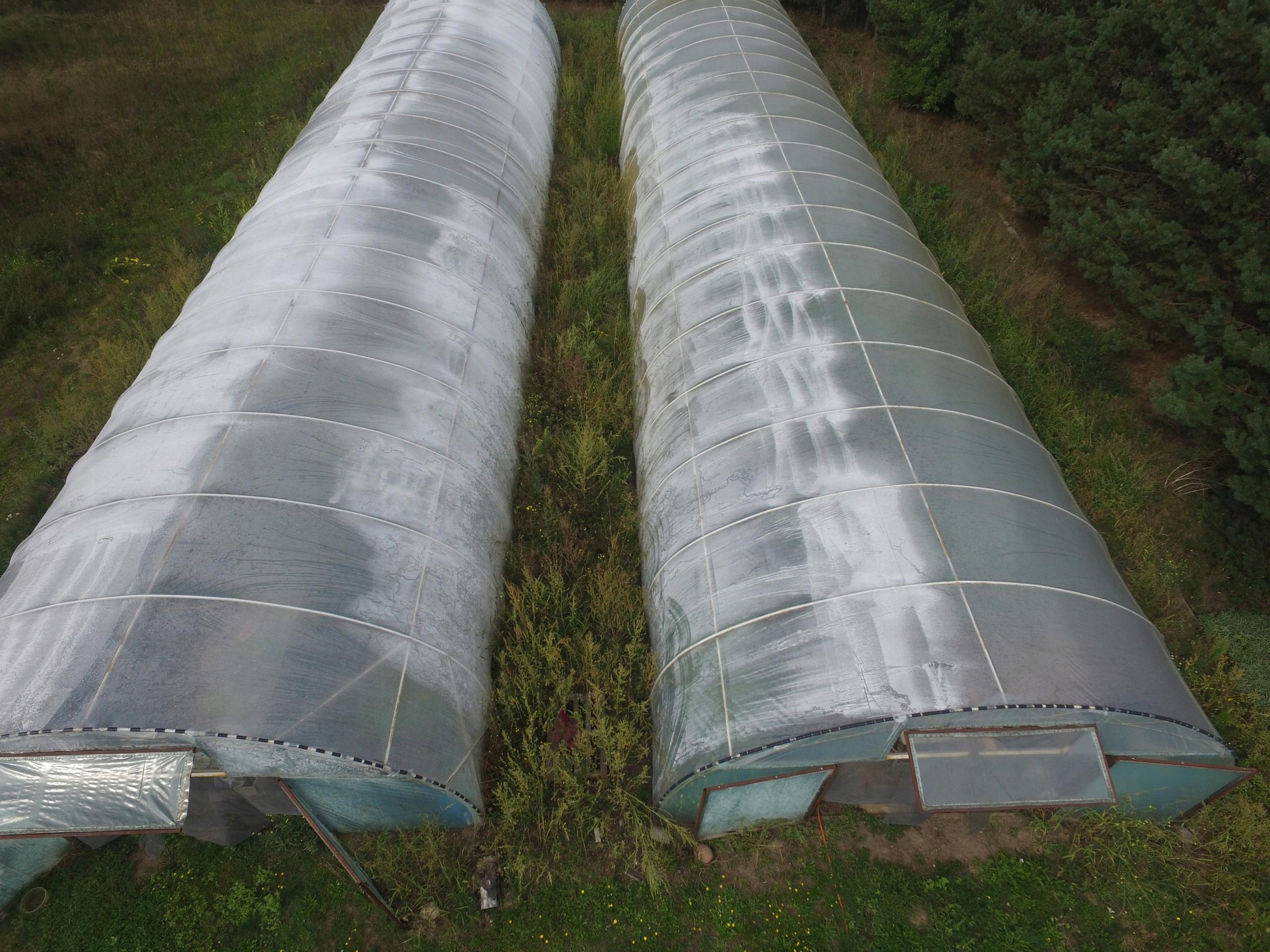 Tunele Foliowe 2 Szt 30x7x3 Używane Stan Bdb 7556322489