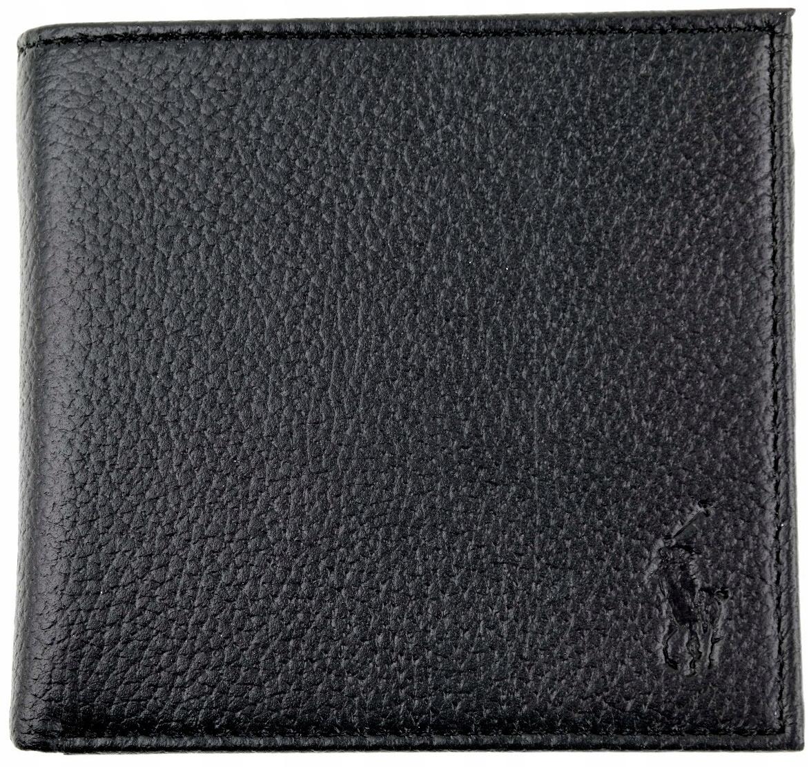c9b6e18e6aec7 POLO RALPH LAUREN portfel męski skóra czarny - 7515821270 ...