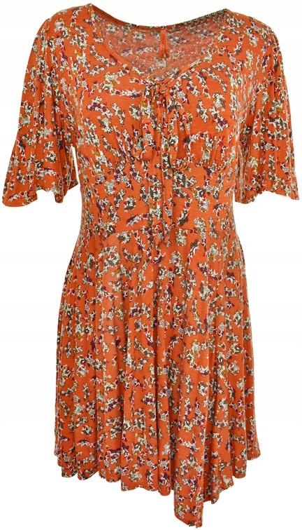 661cffbb7a kL6166 NOWA NEXT sukienka w kwiaty