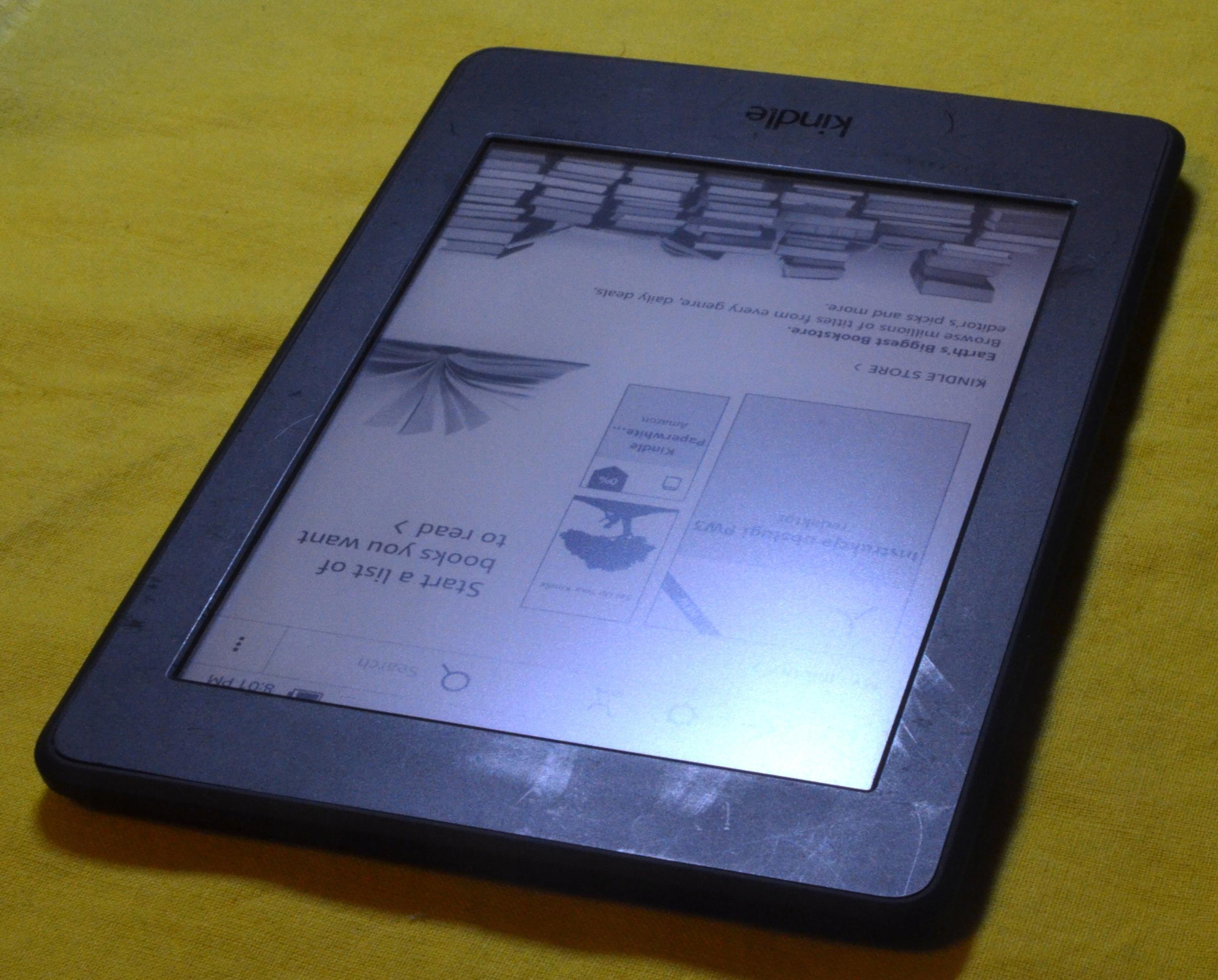 KINDLE PAPERWHITE 3 4GB WIFI G090 BEZ REKLAM KABEL - 7490067095